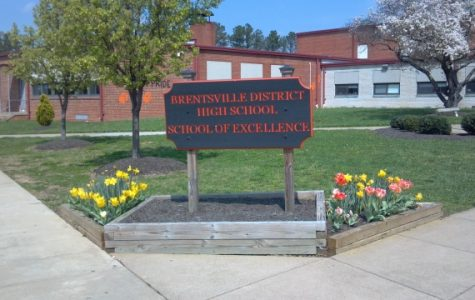 The sign of our school, Brentsville