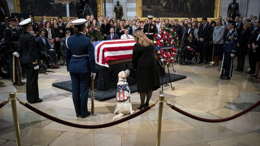 President+George+Bush%27s+funeral