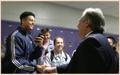 PWCS Superintendent, Dr. Steven Walts, visits multiple schools.