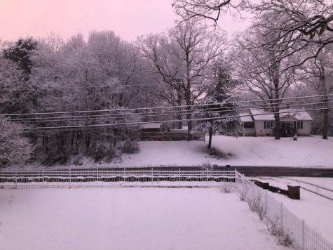 Snow storm on January 29, 2019
