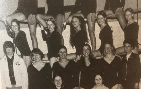 Brentsville District Tigers 1974 gymnastics team.