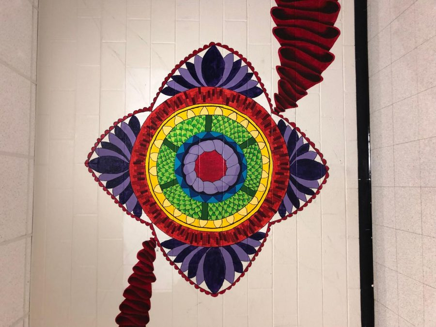 This+mural+is+located+in+the+art+hallway%2C+and+is+one+of+the+largest+in+the+school.