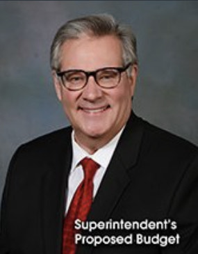 An image of the PWCS superintendent smiling.