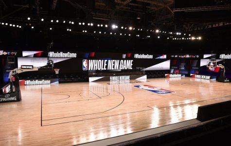 NBA Bubble Courtside View