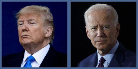 Donald Trump & Joe Biden-