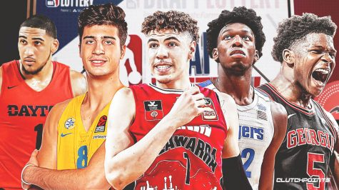 Five of the 14 lottery picks in the 2020 NBA draft.