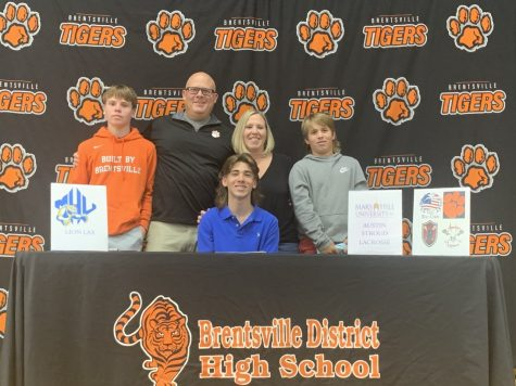 Austin Stroud has committed to Mars Hill University