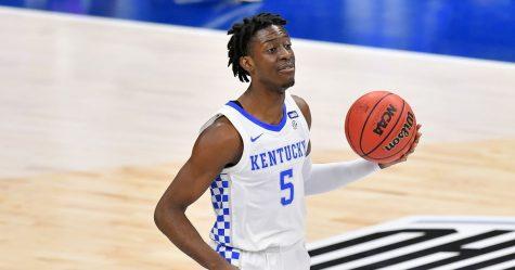 Terrance Clarke playing for Kentucky