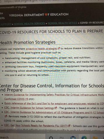 Covid-19 Precautions for Next School Year